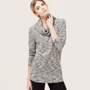 Lou & Grey | Cowl Neck Pullover Sweater